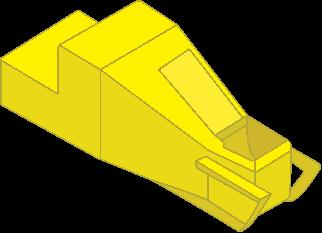 """Бункер """"туфелька"""" (контейнер, тара) для перемещения бетона ..."""